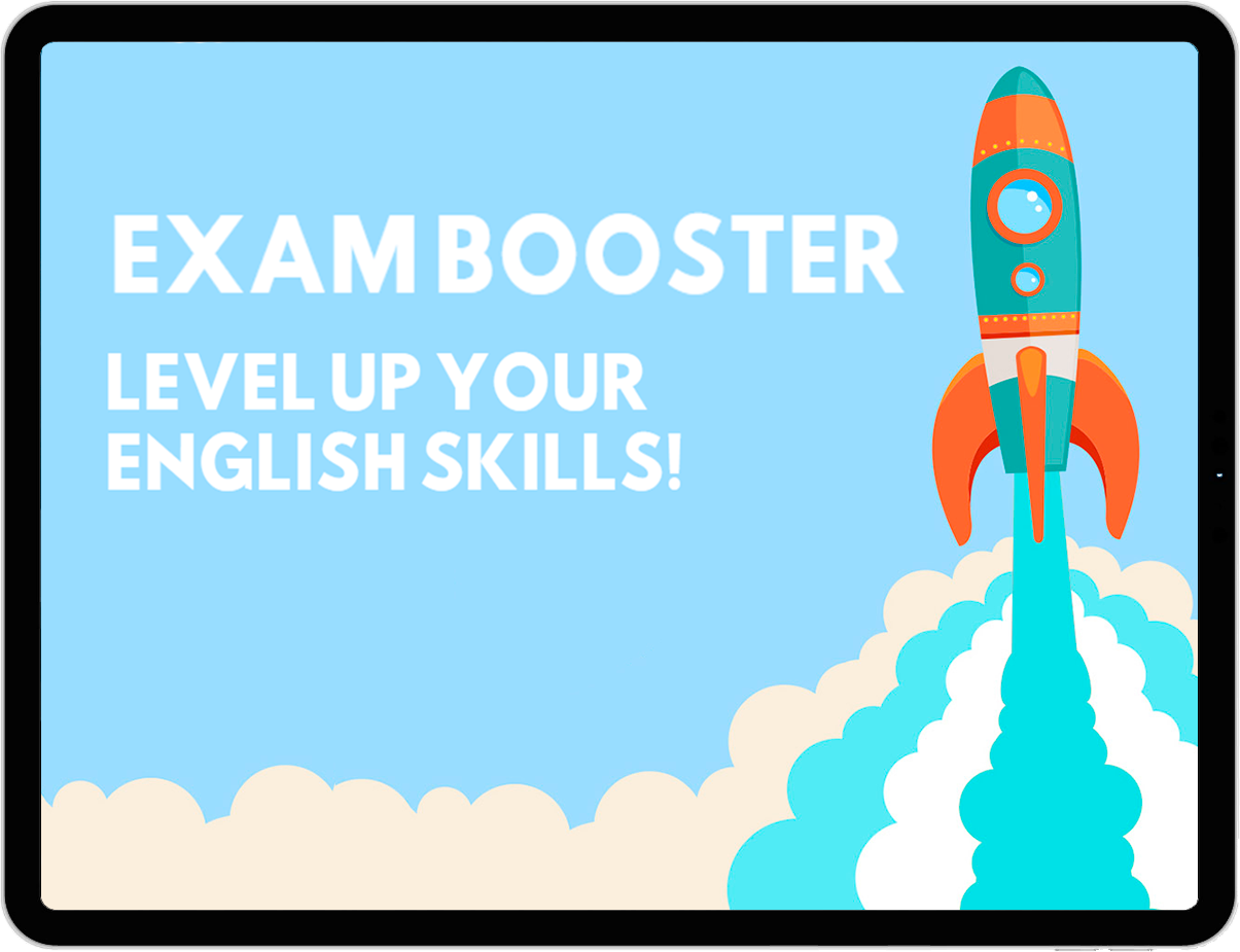 Exam booster english course